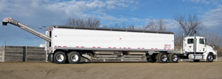 Timpte 40' Trailer Featuring the EZ-VEYOR