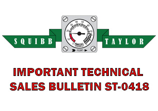 Squibb-Taylor Anhydrous Ammonia Riser Valves