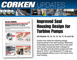 Corken Improved Seal Housing Design for Turbine Pumps
