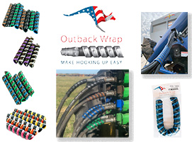 Outback Wrap Hydraulic Hose Identification Markers