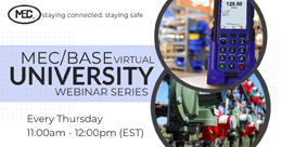 MEC/BASE Virtual University Webinar Series