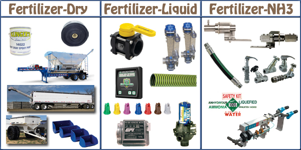 fertilizer parts and equipment